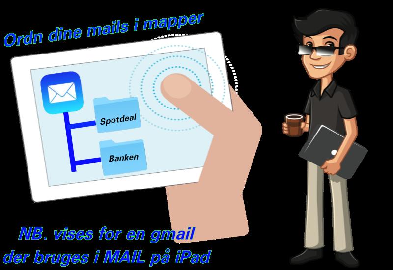Lav en mappe til mail fra Spotdeal