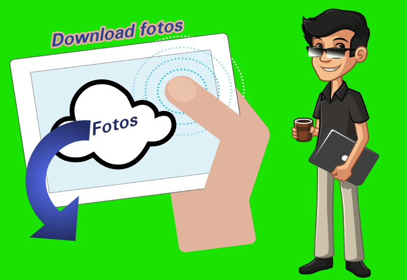 Download fotos fra iCloud