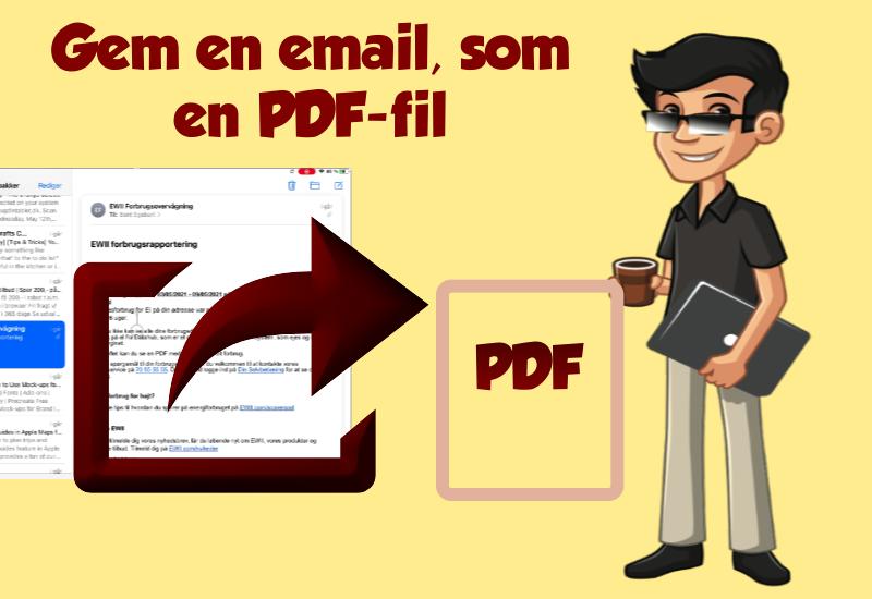 email til PDF-fil